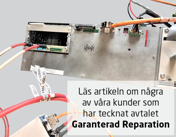 Reparation av reservdelar